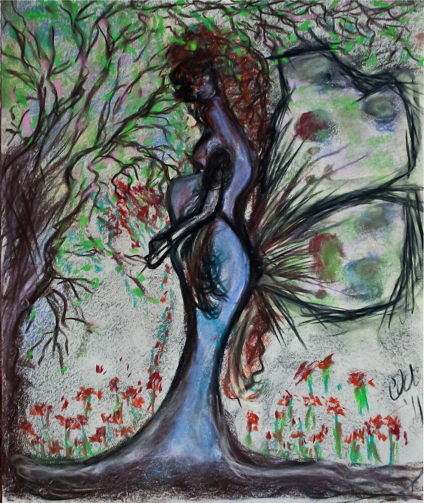 Mother Earth Gaia by Christina Rodriguez
