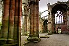 The Beautiful Ruins of Melrose Abbey by Christine Smith
