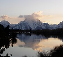 Mt. Moran's Reflection by Paul Simms