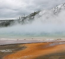 Grand Prismatic Spring by Paul Simms