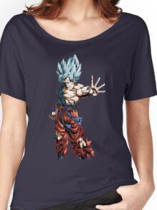Super Saiyan God Super Saiyan Goku Women's Relaxed Fit T-Shirt