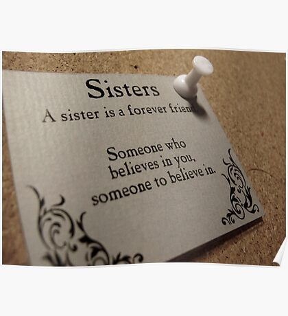 Sisters Forever  Poster