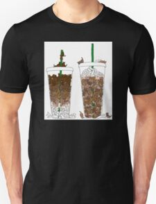 Starbucks Kittens! Unisex T-Shirt