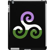 Genderqueer Pride Teen Wolf Triskelion iPad Case/Skin