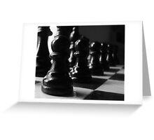 Pawns  Greeting Card