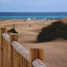 _fence [desert and beach edition] by Justo Morales