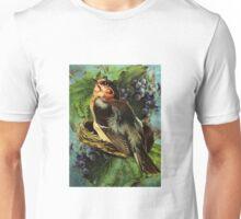 BIRD AND GRAPES Unisex T-Shirt