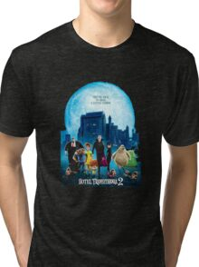 the monsters are back hotel transylvania 2 Tri-blend T-Shirt