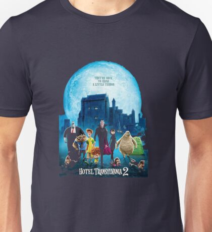 the monsters are back hotel transylvania 2 Unisex T-Shirt