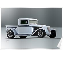 1932 Ford 'Track Nose' Pickup Poster