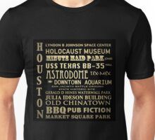 Houston Texas Famous Landmarks Unisex T-Shirt