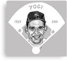 Yogi Berra Baseball Star 1925-2015 Canvas Print