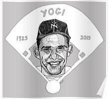 Yogi Berra Baseball Star 1925-2015 Poster
