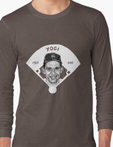 Yogi Berra Baseball Star 1925-2015 Long Sleeve T-Shirt