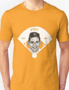 Yogi Berra Baseball Star 1925-2015 Unisex T-Shirt