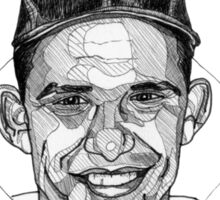 Yogi Berra Baseball Star 1925-2015 Sticker
