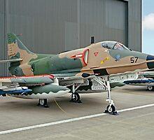 Douglas A-4SU Super Skyhawk 957 by Colin Smedley