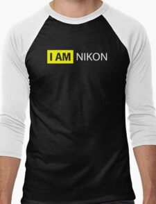 I AM NIKON Men's Baseball ¾ T-Shirt