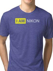 I AM NIKON Tri-blend T-Shirt