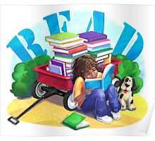 Book Wagon Poster