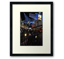 West end hustle Framed Print