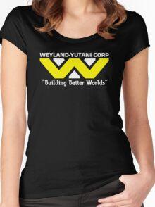 Weyland-Yutani Corp Women's Fitted Scoop T-Shirt