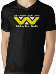 Weyland-Yutani Corp Mens V-Neck T-Shirt