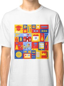 Colorful Education Concept Classic T-Shirt
