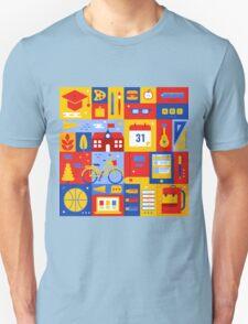 Colorful Education Concept Unisex T-Shirt