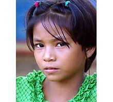 Burmese girl Photographic Print