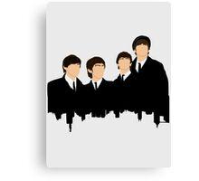 Beatle Skyline Canvas Print