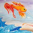 le fishy kite  by myREVolution
