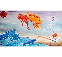 le fishy kite  Photographic Print
