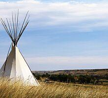 Blackfoot Teepee by Alyce Taylor