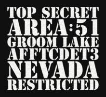 Area 51 - top secret by Steve Dunkley