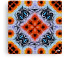 Electric Orange Canvas Print