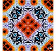 Electric Orange Photographic Print