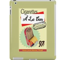 Cigarettes À La Can iPad Case/Skin