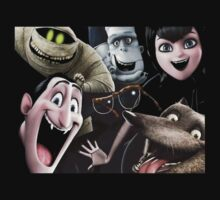 the characters of hotel transylvania 2 by tylerjannafry