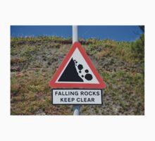 Falling rocks sign, Folkestone One Piece - Long Sleeve