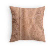 Residents of the United States Of America Throw Pillow
