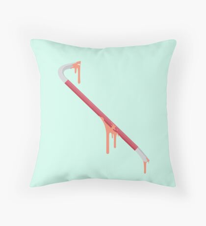 The Crowbar is Back Throw Pillow