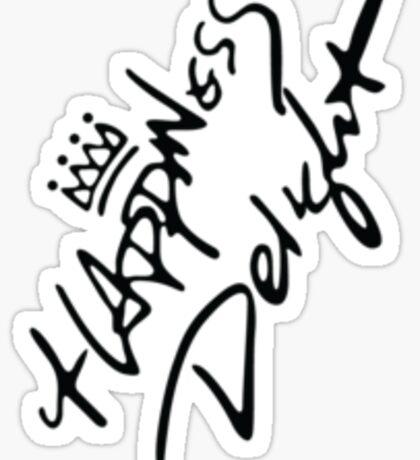 EXO K M Park Chanyeol Happiness Delight K POP Happy Virus  Sticker