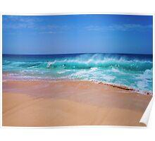 Bodysurfers Paradise Poster