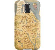 Sinnoh Map Samsung Galaxy Case/Skin