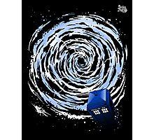 Vortex TARDIS Poster Photographic Print
