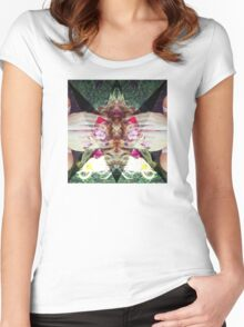 The Garden Women's Fitted Scoop T-Shirt