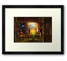 sacred journey to another world Framed Print