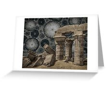 Ancient Ruins of the Future Greeting Card