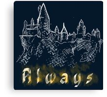 Always a wizard Canvas Print